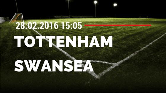 Tottenham Hotspur – Swansea City 28.02.2016 Tipp