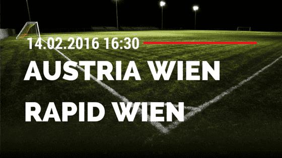 Austria Wien – Rapid Wien 14.2.2016 Tipp