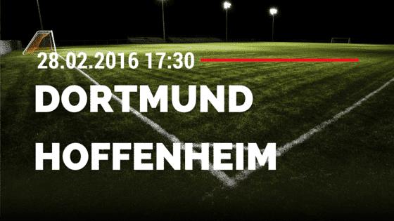 Borussia Dortmund - TSG Hoffenheim 28.02.2016 Tipp