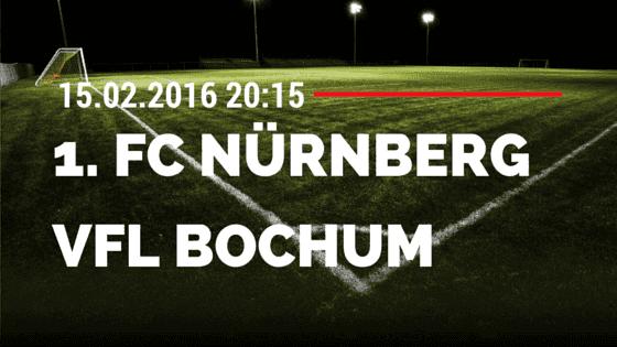 1. FC Nürnberg – VfL Bochum 15.02.2016 Tipp