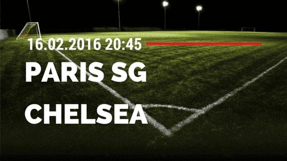 Paris Saint Germain – FC Chelsea 16.02.2016 Tipp