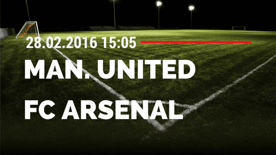 Manchester United – FC Arsenal 28.02.2016 Tipp