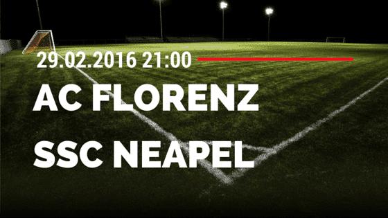 AC Florenz - SSC Neapel  29.02.2016 Tipp