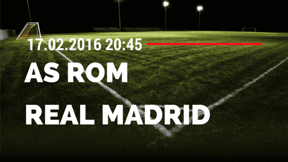 AS Rom – Real Madrid 17.02.2016 Tipp