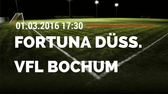 Fortuna Düsseldorf – VfL Bochum 01.03.2016 Tipp