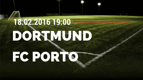 Borussia Dortmund - FC Porto 18.02.2016 Tipp
