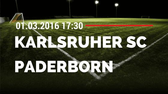 Karlsruher SC – SC Paderborn 01.03.2016 Tipp