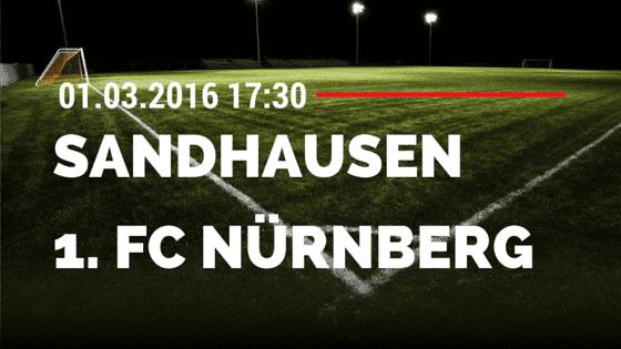 SV Sandhausen – 1. FC Nürnberg 01.03.2016 Tipp