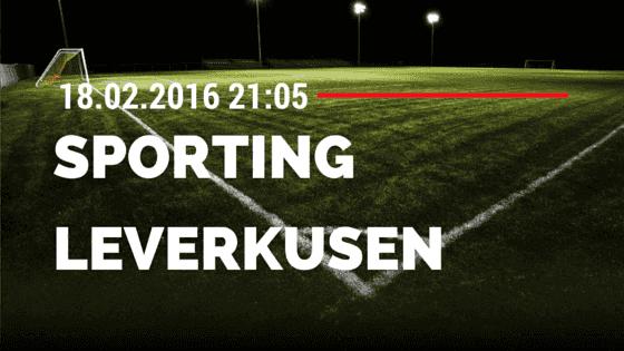 Sporting Lissabon - Bayer 04 Leverkusen 18.02.2016 Tipp