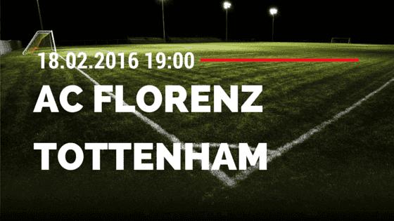 AC Florenz – Tottenham Hotspur 18.02.2016 Tipp