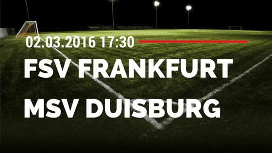 FSV Frankfurt – MSV Duisburg 02.03.2016 Tipp