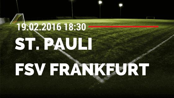 FC St. Pauli – FSV Frankfurt 19.02.2016 Tipp