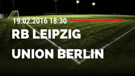 RB Leipzig – 1. FC Union Berlin 19.02.2016 Tipp