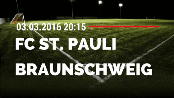 FC St. Pauli – Eintracht Braunschweig 03.03.2016 Tipp