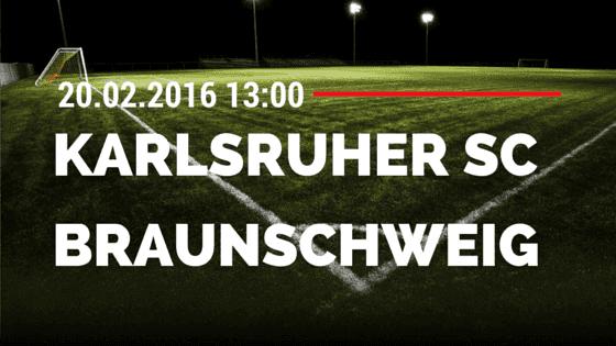 Karlsruher SC – Eintracht Braunschweig 20.02.2016 Tipp