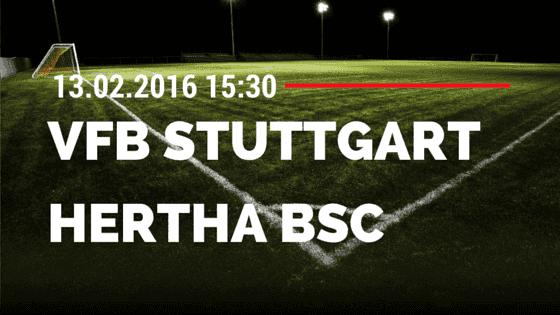 VfB Stuttgart - Hertha BSC Berlin 13.02.2016 Tipp