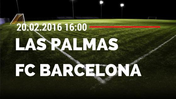 UD Las Palmas – FC Barcelona 20.02.2016 Tipp