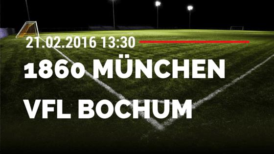 TSV 1860 München – VfL Bochum 21.02.2016 Tipp