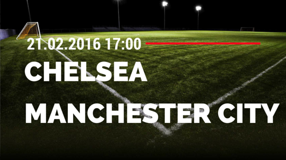 Chelsea – Manchester City 21.02.2016 FA Cup Tipp