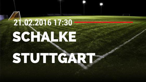 FC Schalke 04 - VfB Stuttgart 21.02.2016 Tipp