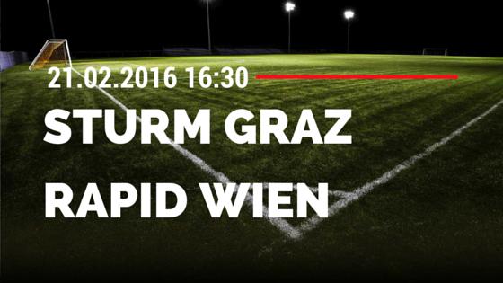 SK Sturm Graz – Rapid Wien 21.02.2016 Tipp