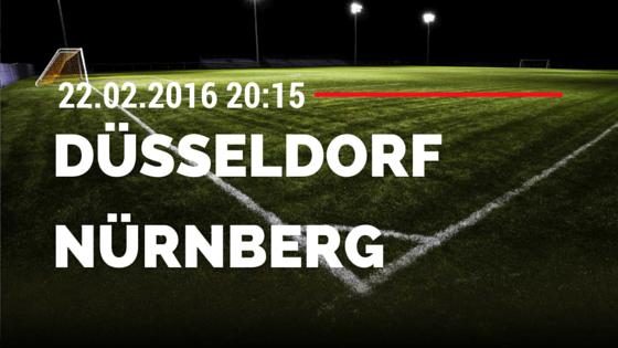 Fortuna Düsseldorf – 1. FC Nürnberg 22.02.2016 Tipp