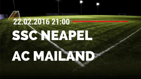 SSC Neapel – AC Mailand 22.02.2016 Tipp