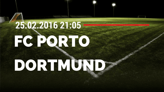 FC Porto - Borussia Dortmund 25.02.2016 Tipp