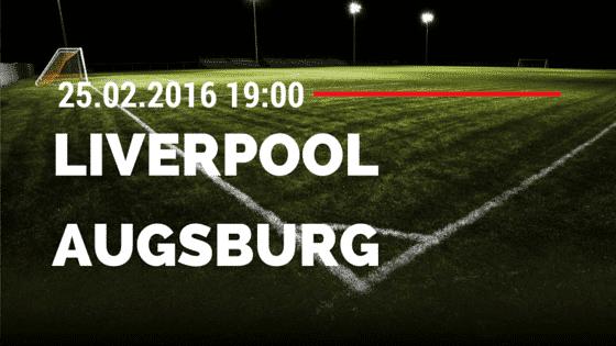 FC Liverpool - FC Augsburg 25.02.2016 Tipp
