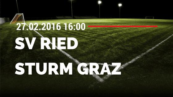 SV Ried – SK Sturm Graz 27.02.2016 Tipp