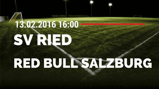 SV Ried – Red Bull Salzburg 13.2.2016 Tipp