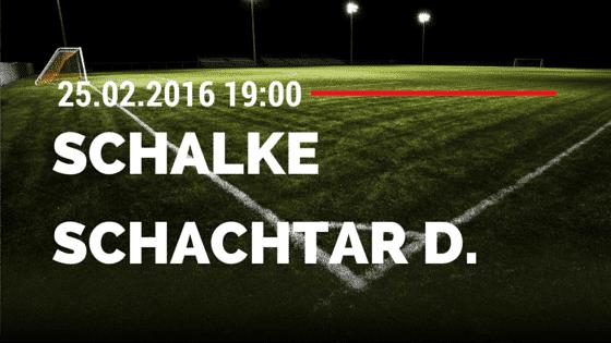 FC Schalke 04 - Schachtar Donezk 25.02.2016 Tipp