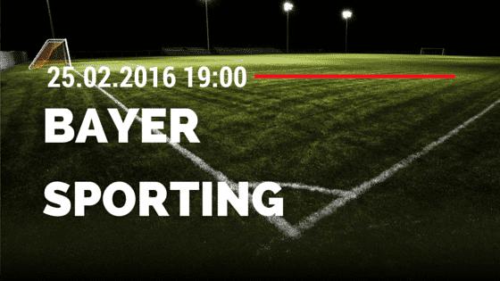 Bayer 04 Leverkusen - Sporting Lissabon 25.02.2016 Tipp