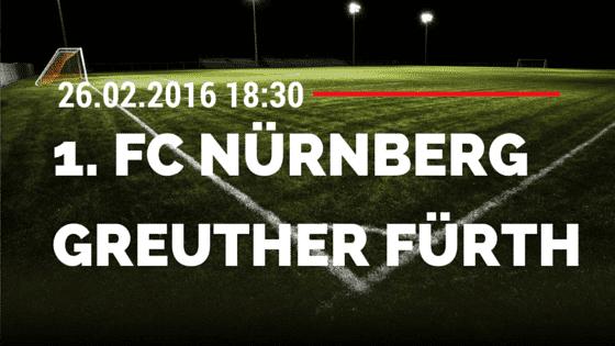 1. FC Nürnberg – SpVgg Greuther Fürth 26.02.2016 Tipp