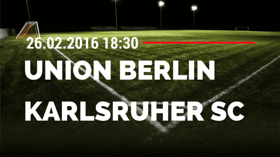 1. FC Union Berlin – Karlsruher SC 26.02.2016 Tipp
