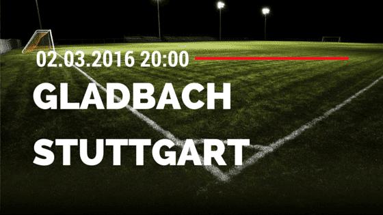 Borussia M'gladbach - VfB Stuttgart 02.03.2016 Tipp