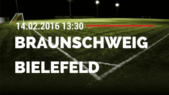 Eintracht Braunschweig – Arminia Bielefeld 14.02.2016 Tipp