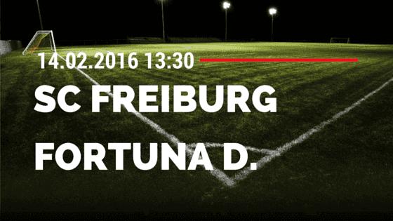 SC Freiburg – Fortuna Düsseldorf 14.02.2016 Tipp