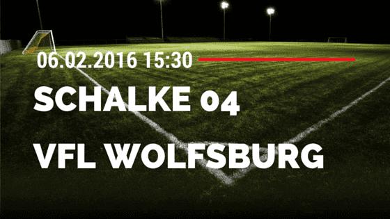 FC Schalke 04 - VfL Wolfsburg 05.02.2016 Tipp