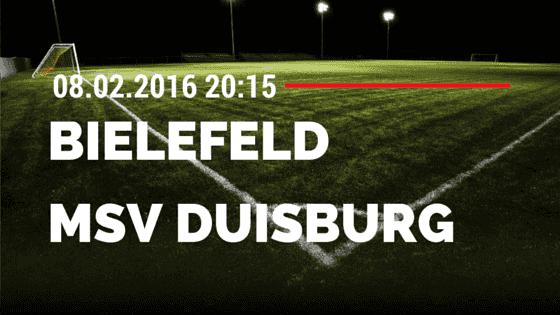 Arminia Bielefeld – MSV Duisburg 08.02.2016 Tipp