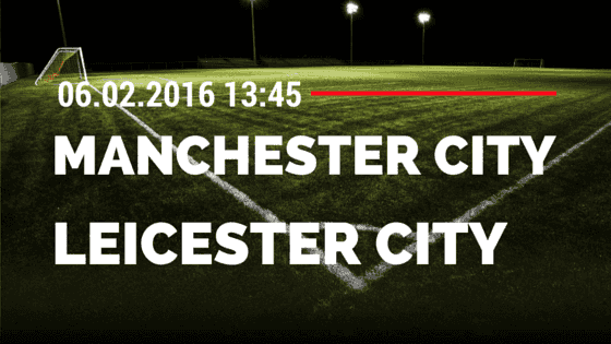 Manchester City - Leicester City 06.02.2016 Tipp