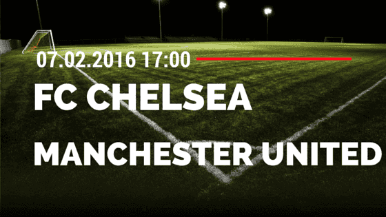 FC Chelsea - Manchester United 07.02.2016 Tipp