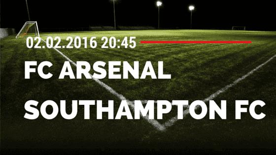 FC Arsenal – Southampton FC 02.02.2016 Tipp