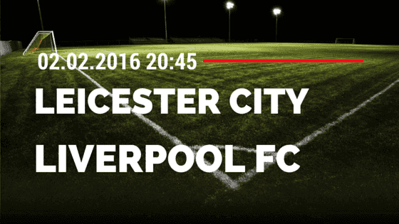 Leicester City – FC Liverpool 02.02.2016 Tipp