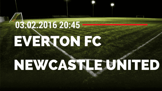 FC Everton – Newcastle United 03.02.2016 Tipp