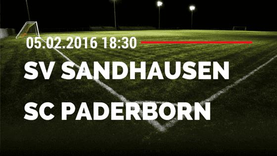SV Sandhausen – SC Paderborn 05.02.2016 Tipp