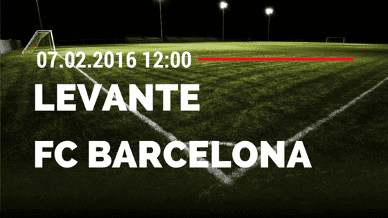 UD Levante – FC Barcelona 07.02.2016 Tipp