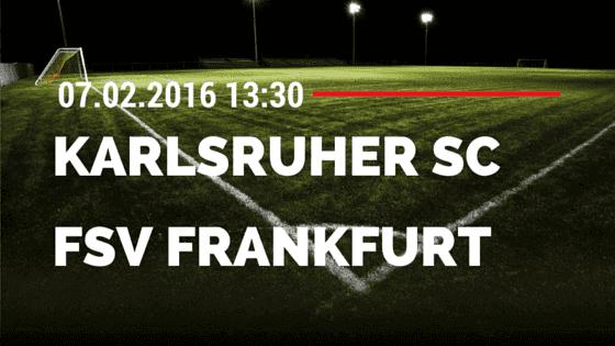 Karlsruher SC – FSV Frankfurt 06.02.2016 Tipp