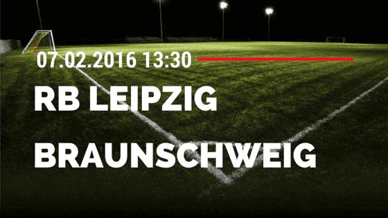 RB Leipzig – Eintracht Braunschweig 07.02.2016 Tipp
