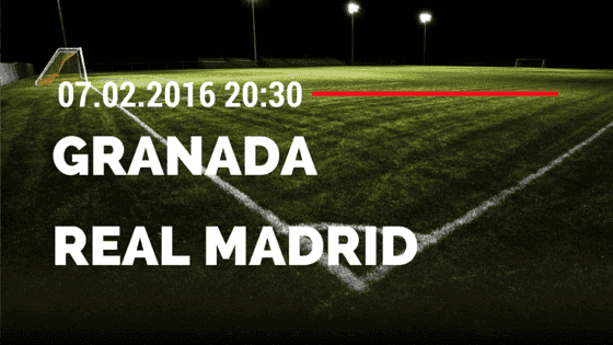 FC Granada – Real Madrid 07.02.2016 Tipp